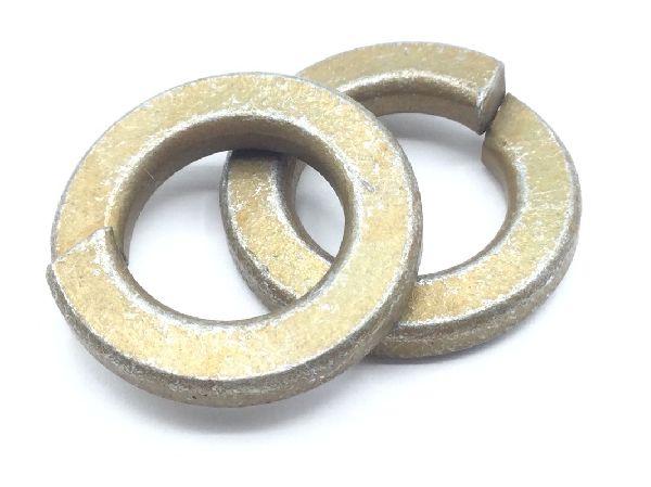 MS35338-42//#8 Mil-Spec Split Lock Washers//Steel//Zinc Yellow Carton: 5,000 pcs